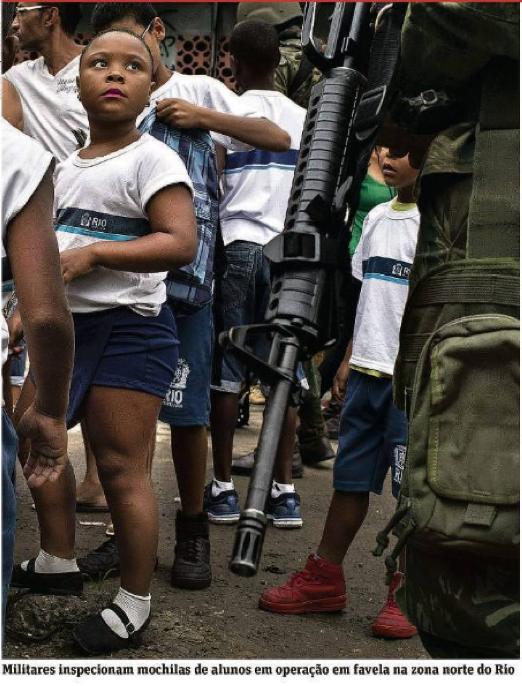 A nova intervenção militar no Rio de Janeiro: reforço da repressão burguesa no Brasil