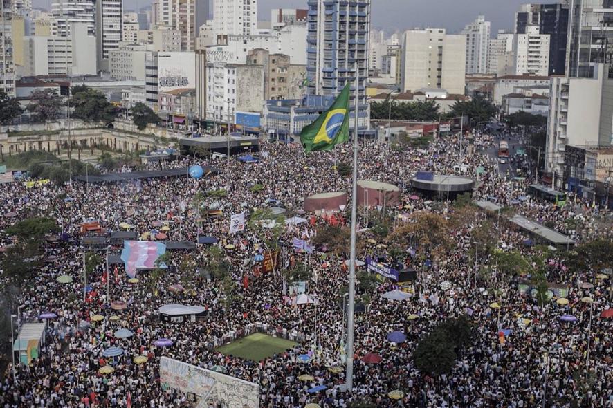 Só com o povo nas ruas se derrota o fascismo!