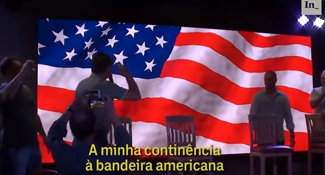 O Hipócrita Patriotismo Burguês de Bolsonaro e seus Objetivos