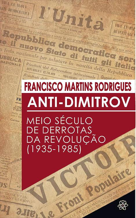 Intervenção do Coletivo Cem Flores no lançamento da edição brasileira do Anti-Dimitrov.