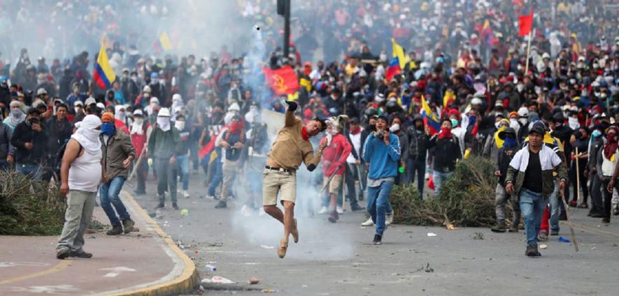 O exemplo do povo equatoriano