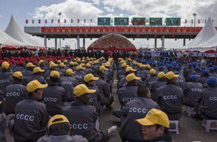 Imperialismo Chinês na África, por Ana Barradas